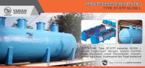 SEPTIKTANK BIO FILTER 60.000 liter