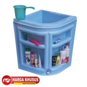 Bak Mandi Cabinet 1 120L Biru