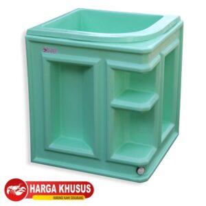 Bak Mandi Cabinet 2 120L Biru