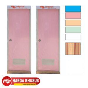 Pintu Kamar Mandi PVC Eco Putih