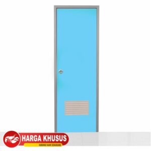 Pintu Kamar Mandi PVC Eco Biru