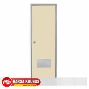 Pintu Kamar Mandi PVC Eco Ivory