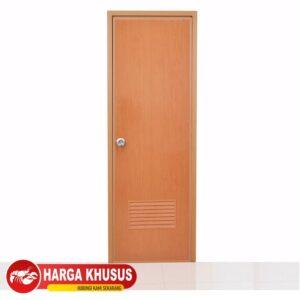 Pintu Kamar Mandi PVC Eco Serat Kayu